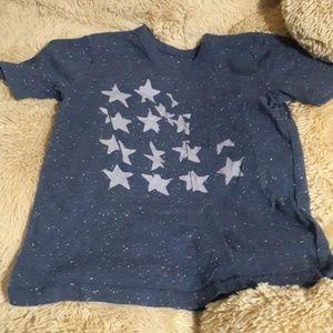Gap kids girls dark blue tshirt